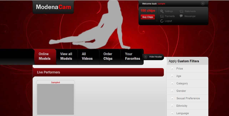 Site ModenaCam